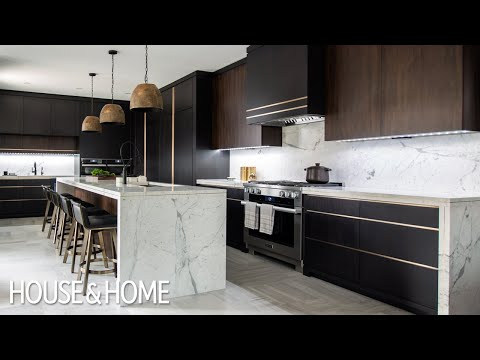 Home Tour: Luxe Dark & Modern Kitchen
