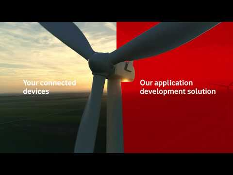 A power company uses Vodafone Business App-Invent for IoT insight