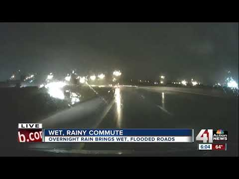 Kansas City at risk for flash flooding as rain continues Tuesday