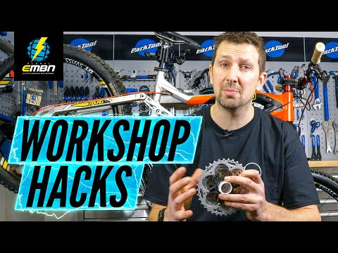 6 Hacks For Working On Your E Bike | E-MTB Maintenance Made Easy