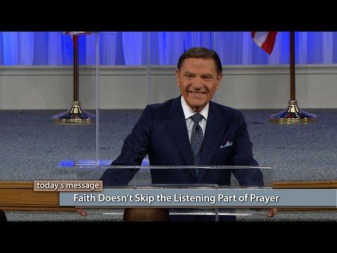 Faith Doesnt Skip the Listening Part of Prayer