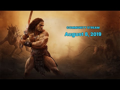 Conan Exiles Community Stream - Building Contest Winners and more