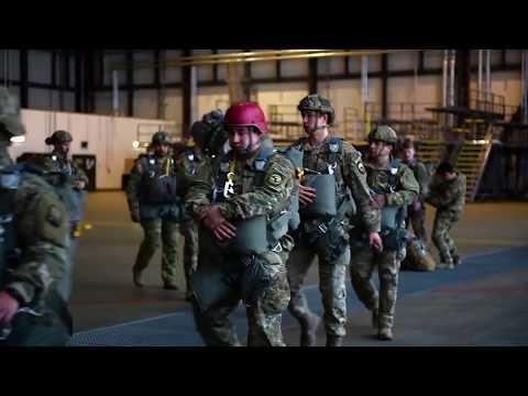 DFN: Airborne Insertion Training, GERMANY, 03.29.2018
