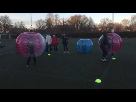 Glasskalas-Bumperball-Sumobrottning men bubbleball
