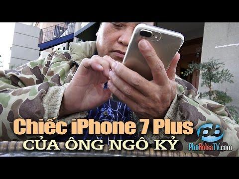 Ông Ngô Kỷ, chiếc iPhone 7 Plus, và những món quà vô điều kiện