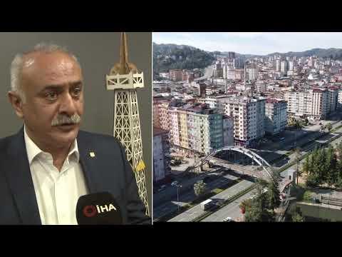 Rize'de Kentsel Dönüşüm Yapılacak Sahadaki Kamu Binalarına Dikkat Çekti