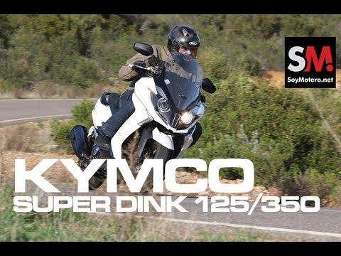 Kymco Super Dink 125/350 2017: Prueba Scooter [FULLHD]
