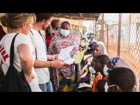 Hjärnhinneinflammation i Niger - läkaren Jessica berättar