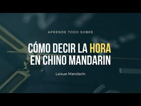 Lección #31: Cómo decir la hora en chino mandarín