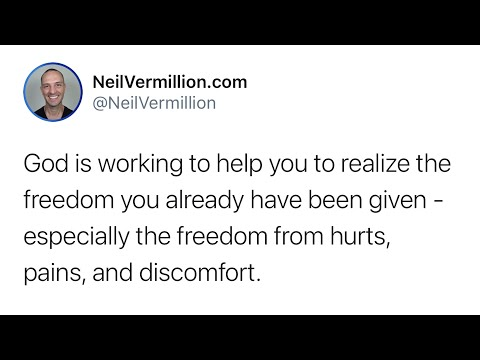 Freedom From Hurts, Pains, And Discomfort - Daily Prophetic Word