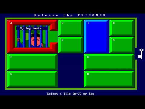 Prisoner (Jim Bates) (MS-DOS) [1988] [PC Longplay]