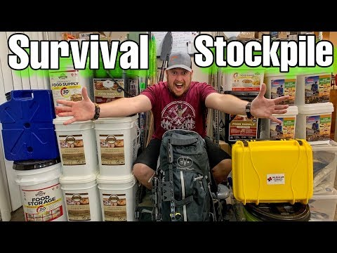 My Grid Down Survival Prepping Stockpile
