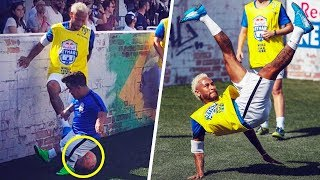 Neymar having fun with his friends at home - Oh My Goal