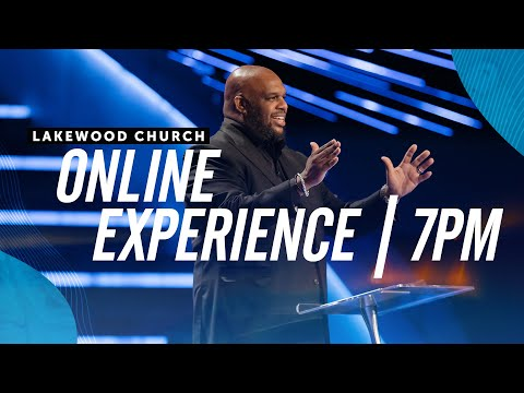 John Gray  Lakewood Church  Sunday Service 7pm