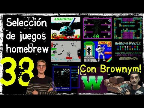 Selección de Juegos Homebrew 38 ¡Con Brownym!