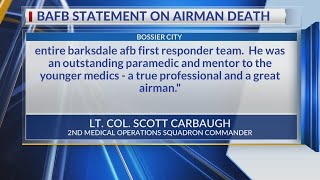 Barksdale AFB issues statement regarding airman's shooting death