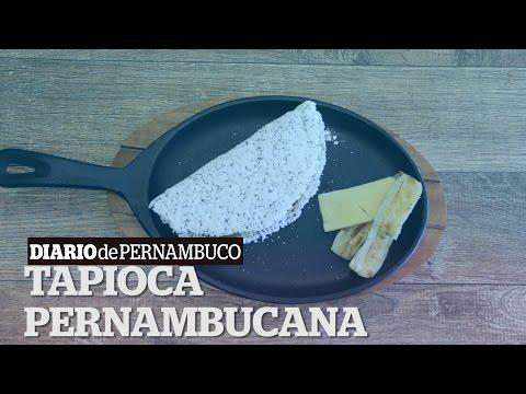 DP Ofertas: Aprenda a fazer uma tapioca com banana da terra, queijo manteiga e chia
