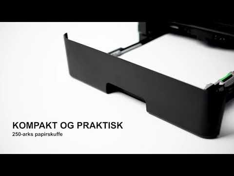 Sort/hvid laser alt-i-én printer: MFC-L2750DW