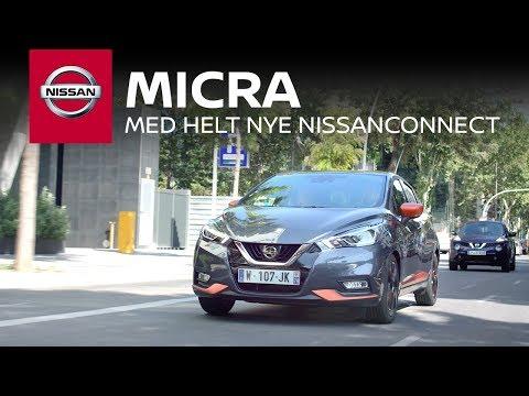 Nissan Micra med helt nye NissanConnect