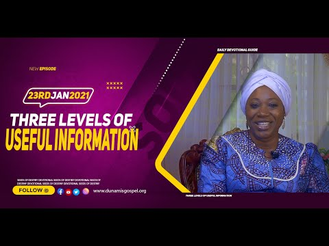 Dr Becky Paul-Enenche - SEEDS OF DESTINY  SATURDAY JANUARY 23, 2021