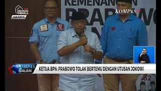 Djoko Santoso: Prabowo Tolak Bertemu Dengan Utusan Jokowi