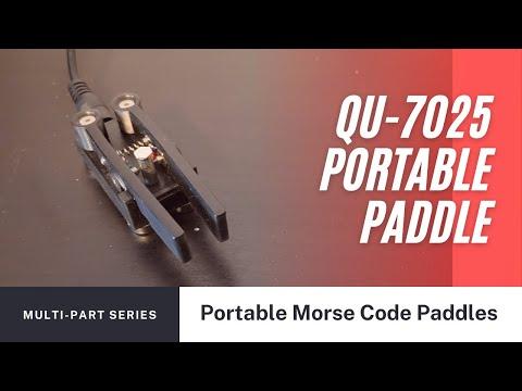 Portable Morse Code Paddle - QU 7025