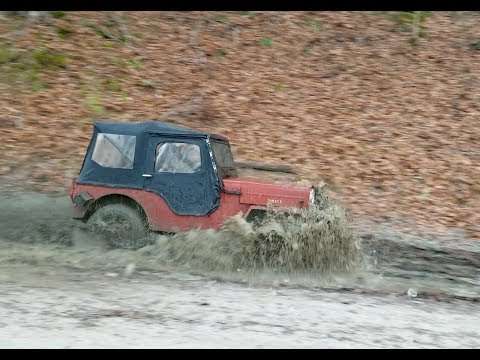 Willys Jeep CJ3B Bash in the Mud