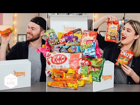 Epic Candy Trying: Kingdom of Sweets - In The Kitchen With Kate - UC_b26zavaEoT1ZPkdeuHEQg