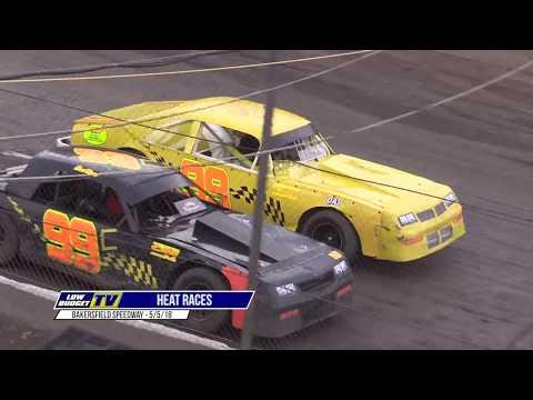 HEAT RACES: Bakersfield Speedway 5/5/18