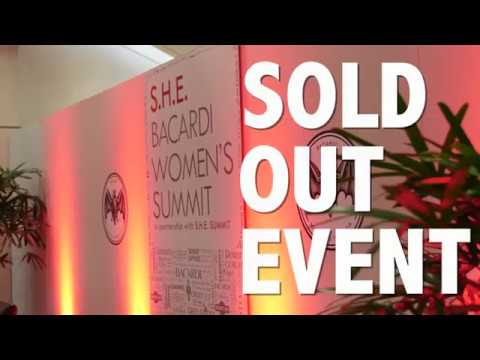 S.H.E. Bacardi Women's Summit