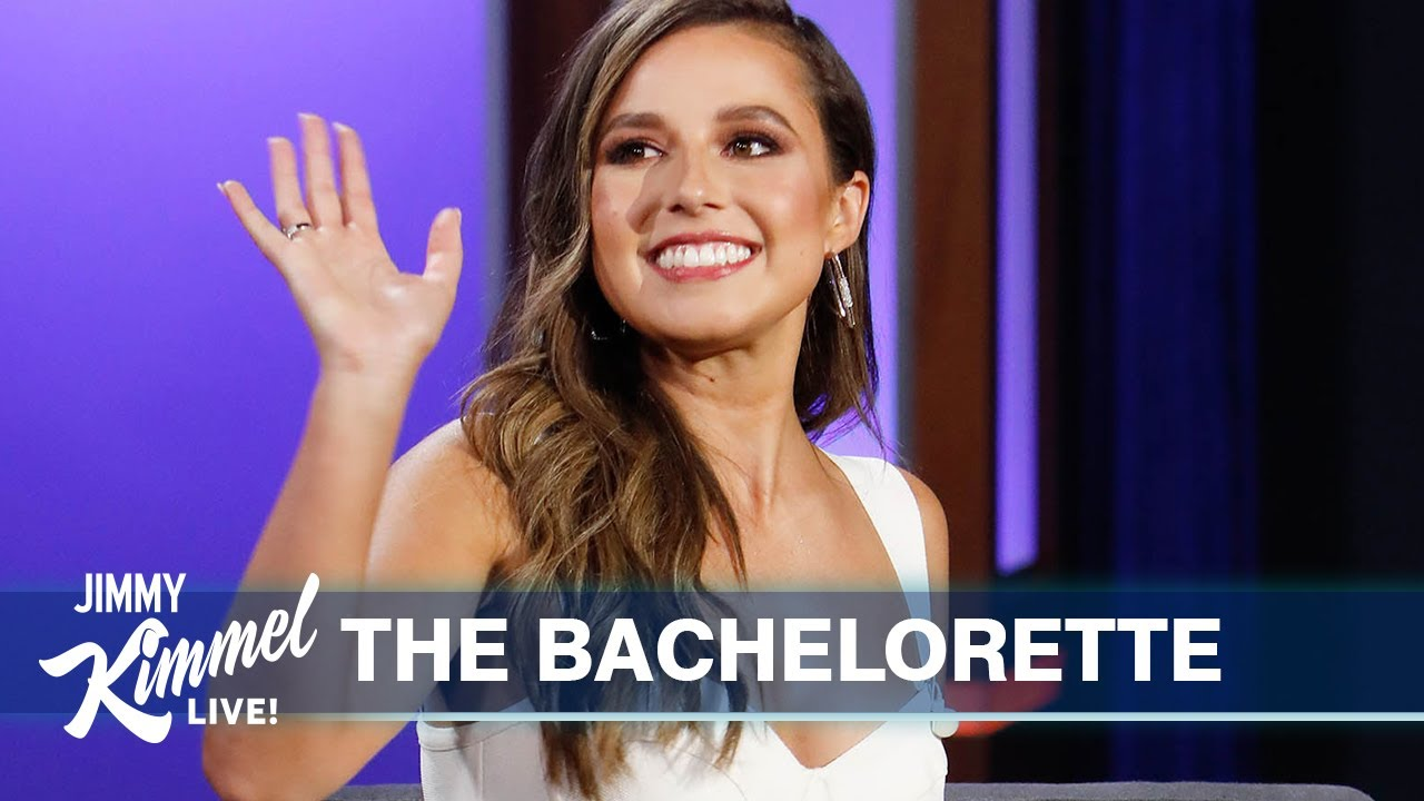 The Bachelorette Katie Thurston Shows Off Her Dumping Skills & Jimmy Kimmel Predicts Her Final Four