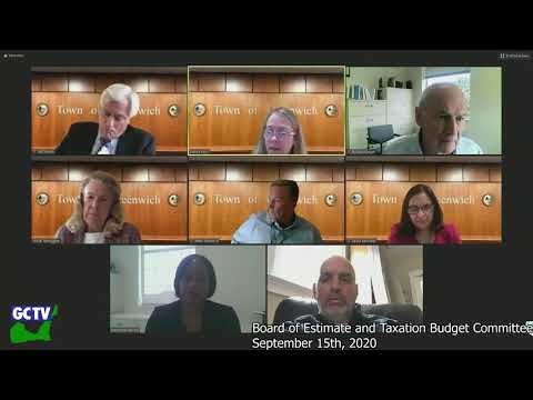 BET Budget Committee, September 15, 2020