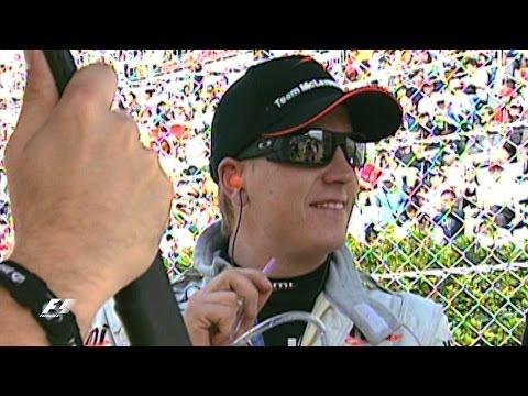 Raikkonen's Last-Gasp Suzuka Overtake | Japanese Grand Prix 2005