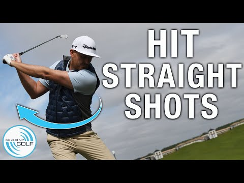 Hit It STRAIGHT With These SIMPLE Drills | ME AND MY GOLF