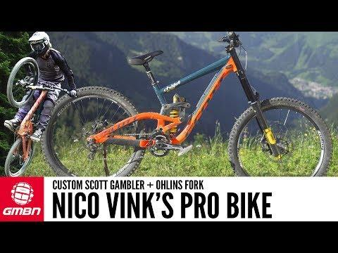 Nico Vink's Custom Scott Gambler | GMBN Pro Bikes