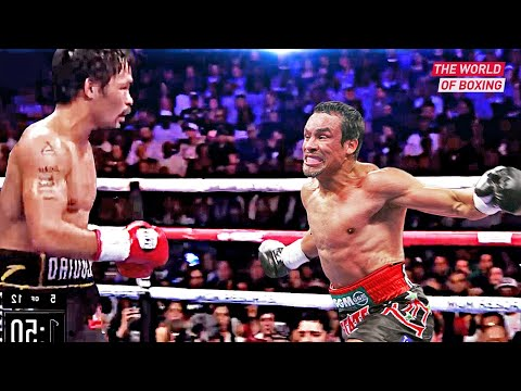 How Juan Manuel Marquez Brutally Destroyed His Opponents!
