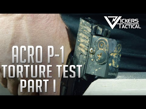 AIMPOINT ACRO P-1 Torture Test - Part 1