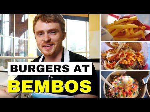 Lima Fast Food - Eating Peruvian Hamburgers at Bembos in Lima, Peru