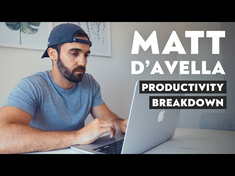 This is How Matt D'Avella Works photo