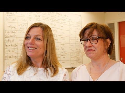 Josefine och Janet om sfi