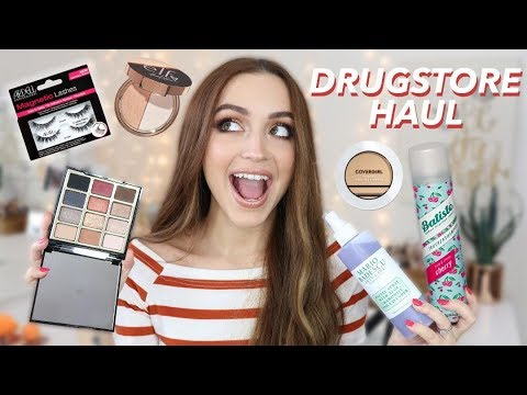DRUGSTORE HAUL | NEW Affordable Makeup & More!