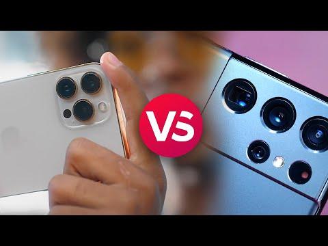 iPhone 13 Pro Max vs Galaxy S21 Ultra Spec Comparison