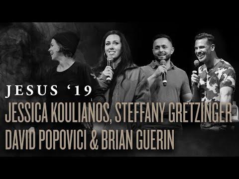 Jessica Koulianos + Steffany Gretzinger + David Popovici + Brian Guerin  Jesus '19