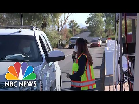 Inside A Major Medical Center's Covid Vaccine Distribution Drill | NBC Nightly News