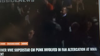 CM PUNK MMA INCIDENT WITH FAN CONFIRMED WWE NXT ON USA DEAL