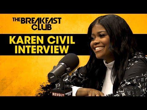 Karen Civil On Strengthening Her Brand, Her Show On Complex + More