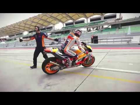 First Footage of Marc Marquez and Dani Pedrosa in Sepang
