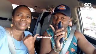 MAMA DANGOTE NA UNCLE SHAMTE WAFANYA YAO MAHABA MPAKA KWENYE GARI