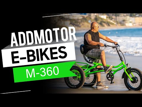 Addmotor MOTAN M-360 Electric Trike Beach Cruiser Tricycle Electric Recumbent Bike