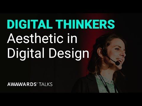 Talk Aude Degrassat on Aesthetic in Digital Design
